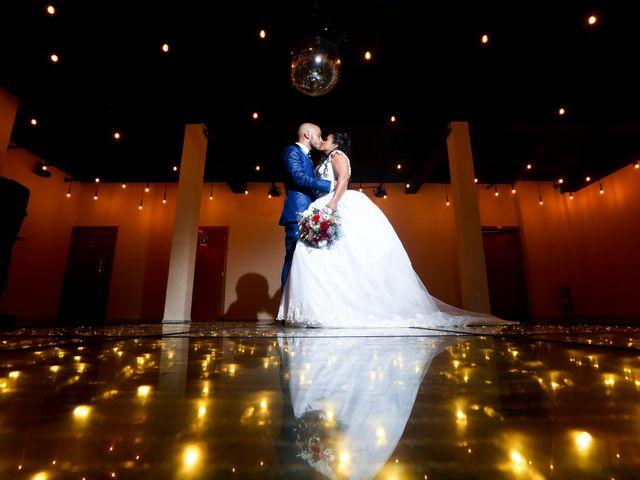O casamento de Priscila e Cristiano