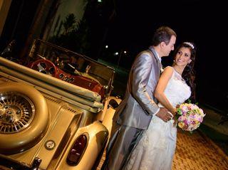 O casamento de Daniele e Carlos