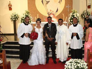 O casamento de Silvia e Wando 1