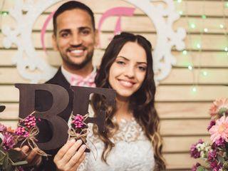 O casamento de Barbará e Fabio