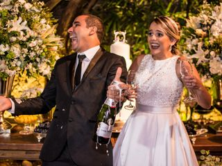 O casamento de Luana e Sullivan