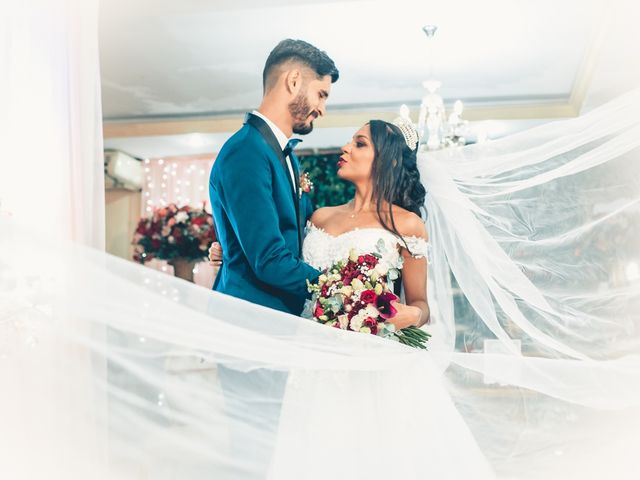 O casamento de Caroline e Yuri
