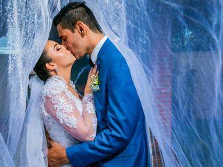 O casamento de Stefanie e Richard