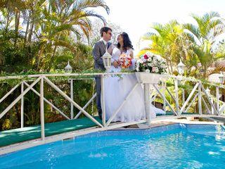 O casamento de Débora e Roberto