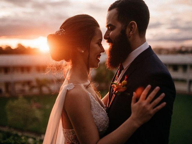O casamento de Tharyn e Iago