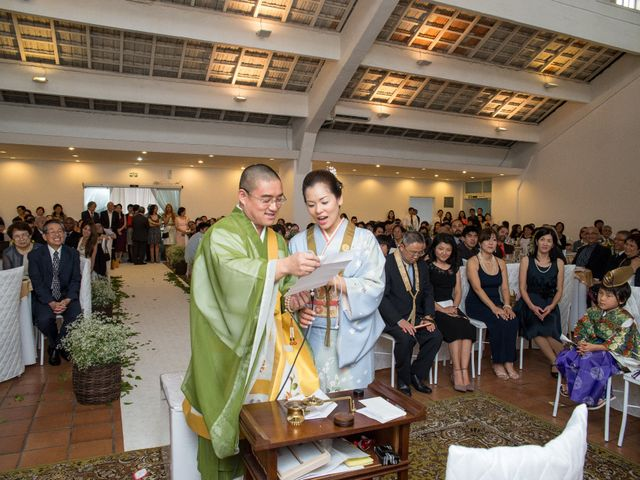 O casamento de Mayumi e Akiyoshi