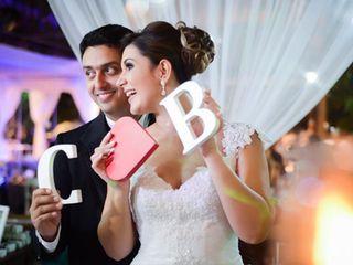 O casamento de Camila e Bruno