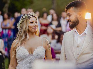O casamento de Tainah e Gabriel