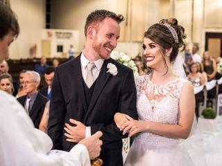 O casamento de Gisiéli e Leonildo