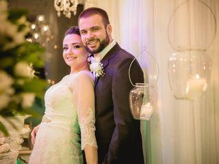 O casamento de Beatriz e Renan