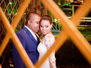 O casamento de Evelym e Rogério