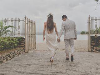 O casamento de Erica e Leo