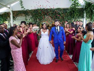 O casamento de Núbia e Jackson