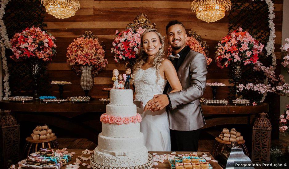 O casamento de Diansen e Thaissa em Duque de Caxias, Rio de Janeiro