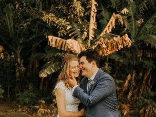O casamento de Bruna Feiden e Davi Wohlcke 1