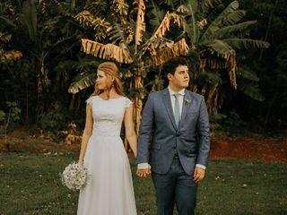 O casamento de Bruna Feiden e Davi Wohlcke