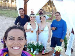 O casamento de Janaína  e Daiane  1