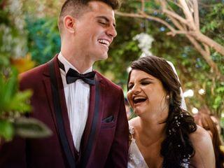 O casamento de Bruna e Caique