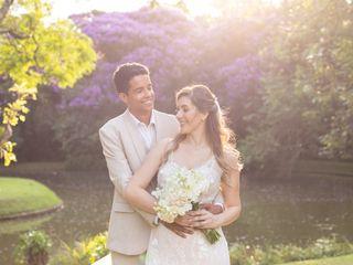 O casamento de Alessandra e Renier