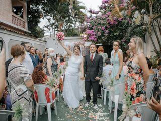O casamento de Flávia e Breno