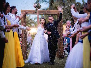 O casamento de Micaelle e Caio