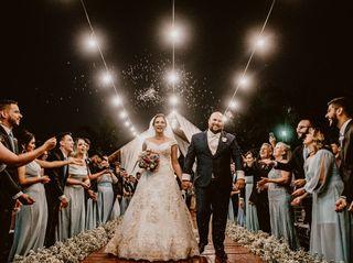 O casamento de Izabelle e David