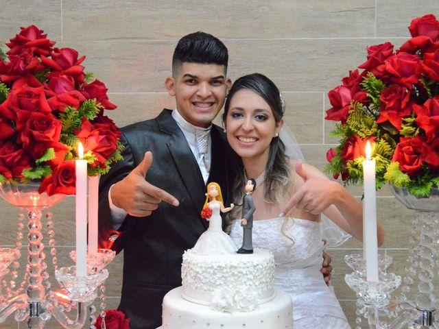 O casamento de Aline e Kaique