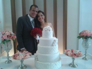 O casamento de Maxwell e Déborah