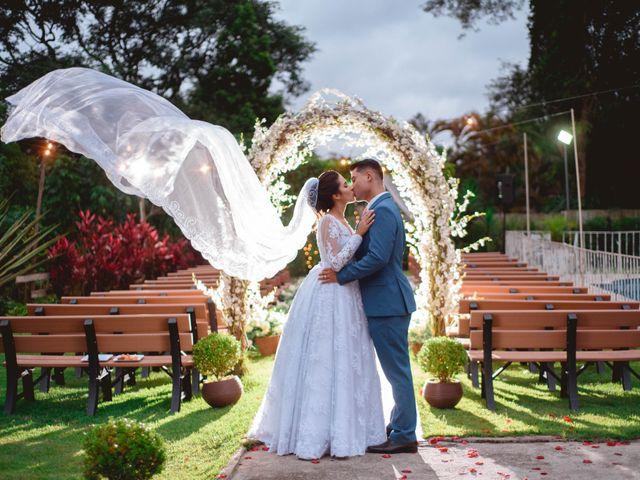 O casamento de Julia e Heverton