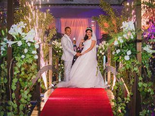 O casamento de Karen e Clayton