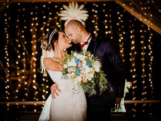 O casamento de Kamila e Henrique
