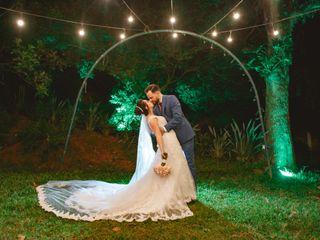 O casamento de Priscilla e Sandro