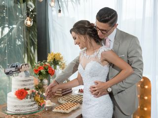 O casamento de Aline e William