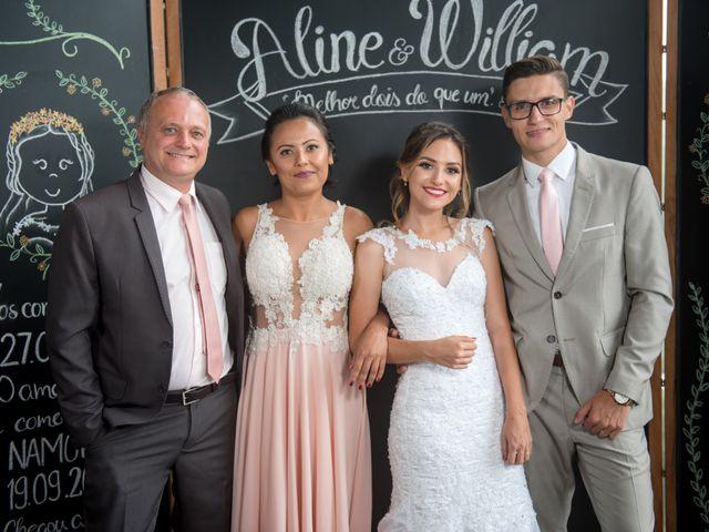 O casamento de William e Aline em Itapema, Santa Catarina 41