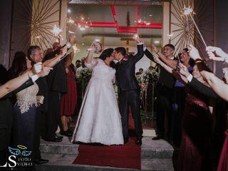 O casamento de Elissandro Reis e Thalyta Reis 1
