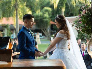 O casamento de Dai e Bruno