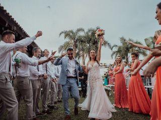 O casamento de Clarice e Sergio