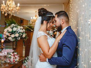 O casamento de Alan e Allana