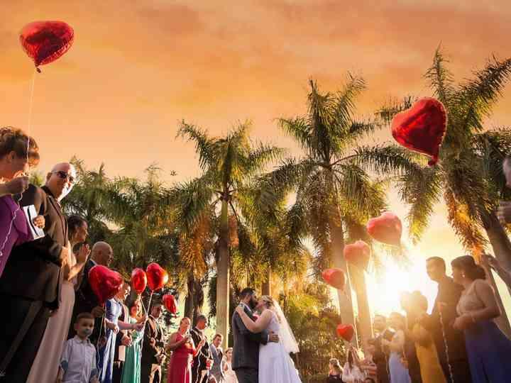O casamento de Jacqueline e Ricardo