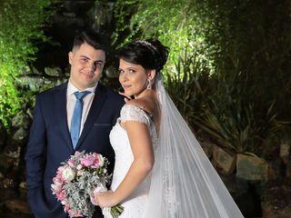 O casamento de Priscila  e Gian 1