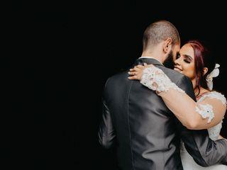O casamento de Karla e Sérgio