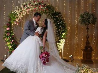 O casamento de Eloá  e Fábio