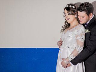O casamento de Zélia e Vinicius
