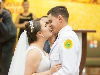 O casamento de Estefani e Helton