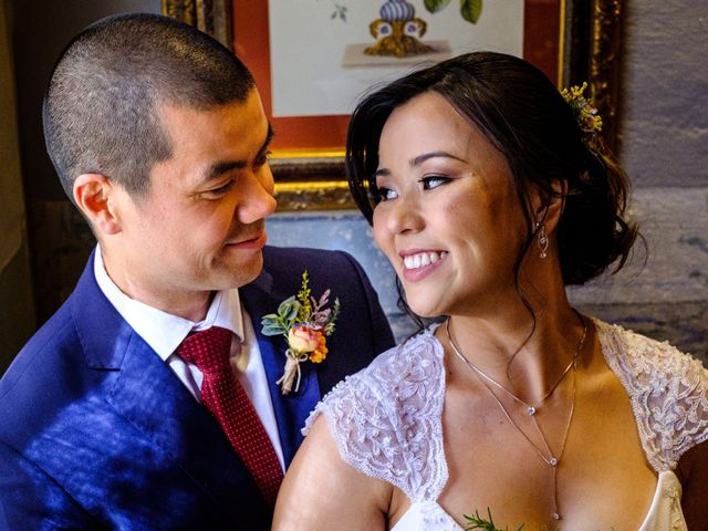 O casamento de Cíntia e Fernando
