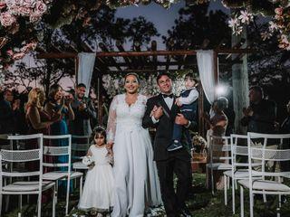 O casamento de Blena e Lincon