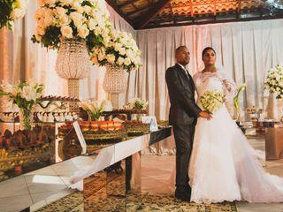 O casamento de Elisama e João