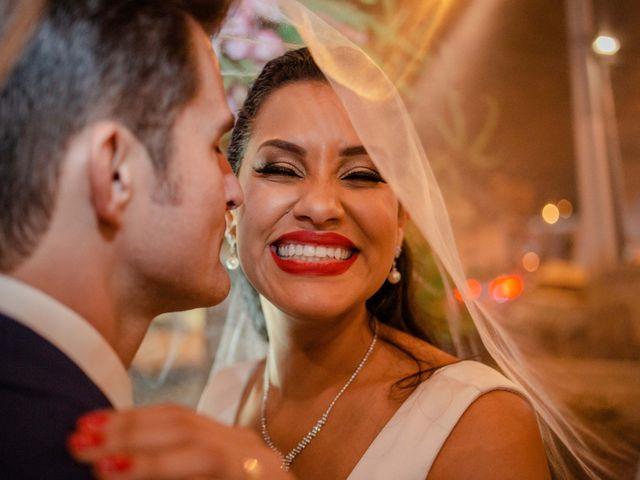 O casamento de Evelyn e Daniel