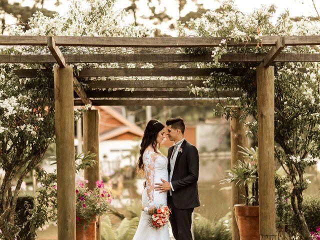 O casamento de Evelyn e Hallyson