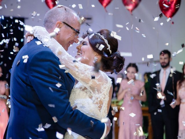 O casamento de Viviane e Darren